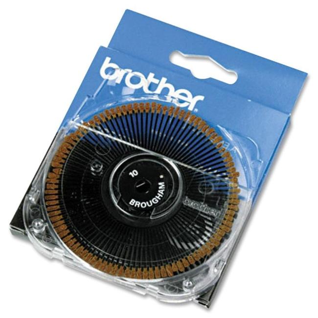Brother Brougham Typestyle Printwheel 411