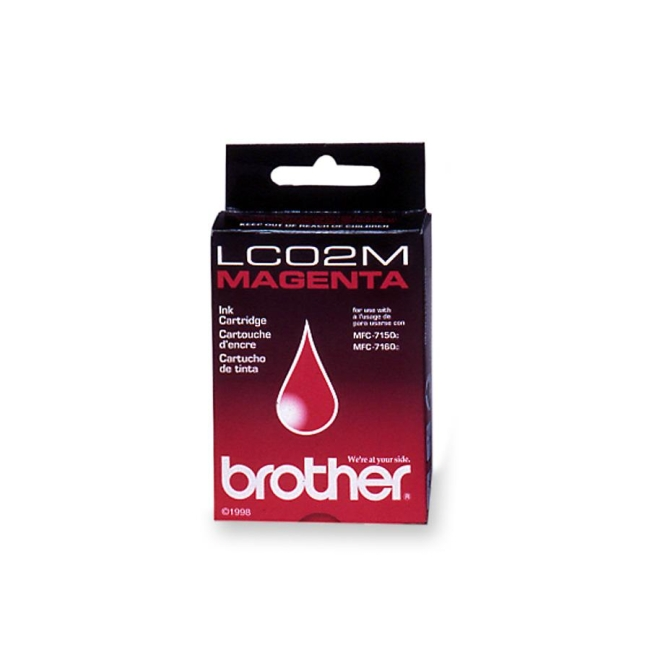 Brother 02M Magenta Ink Cartridge LC02M