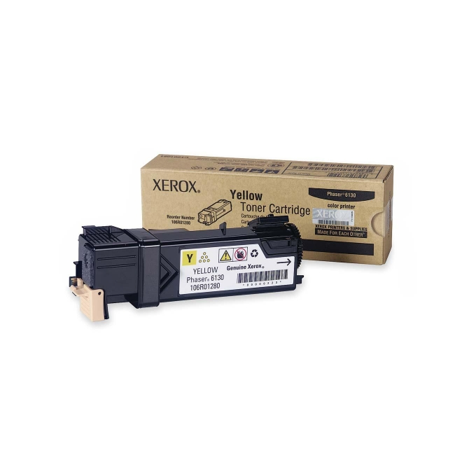 Xerox Yellow Toner Cartridge 106R01280