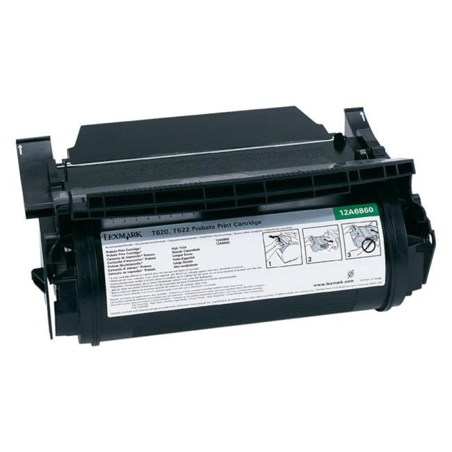 Lexmark Black Toner Cartridge 12A6860
