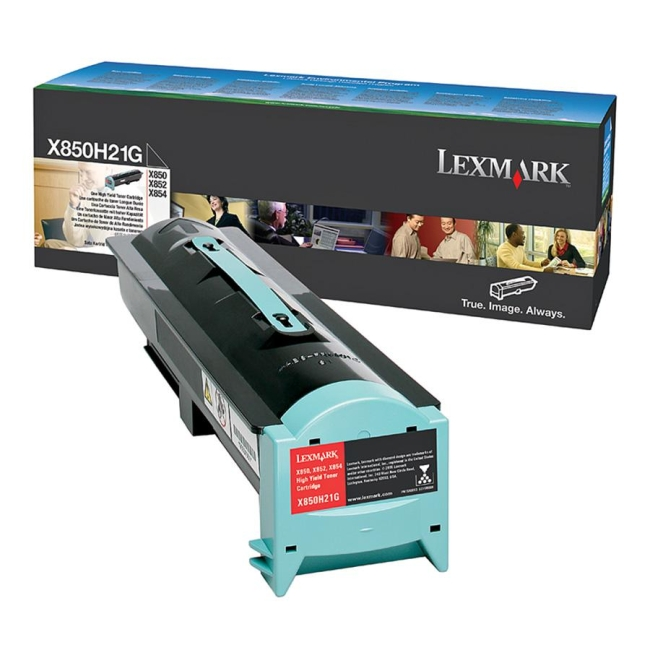 Lexmark Black Toner Cartridge X850H21G