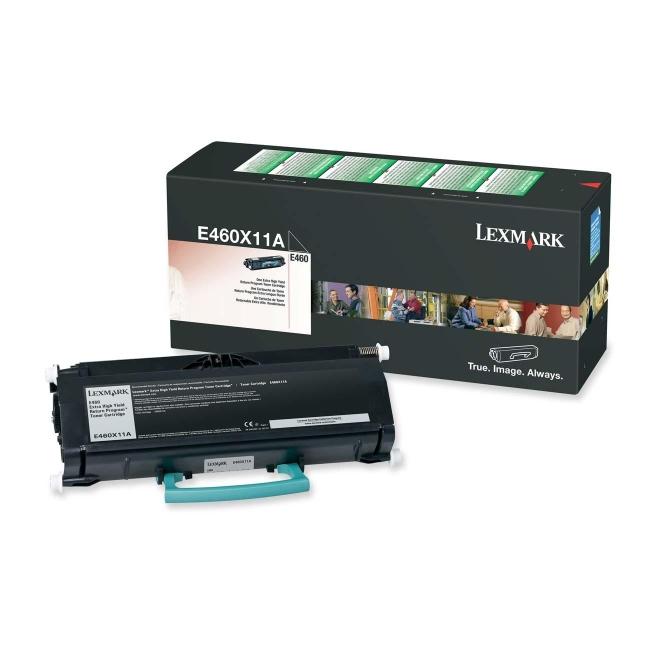 Lexmark Extra High Yield Return Program Toner Cartridge E460X11A
