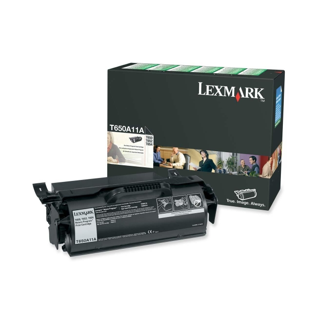 Lexmark Return Program Black Toner Cartridge T650A11A