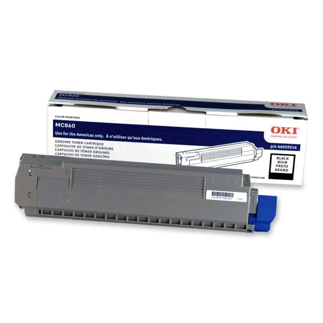 Oki Black Toner Cartridge 44059216