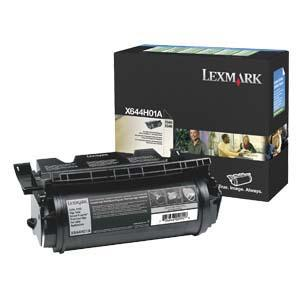 Lexmark Black Return Program Toner Cartridge X644H01A