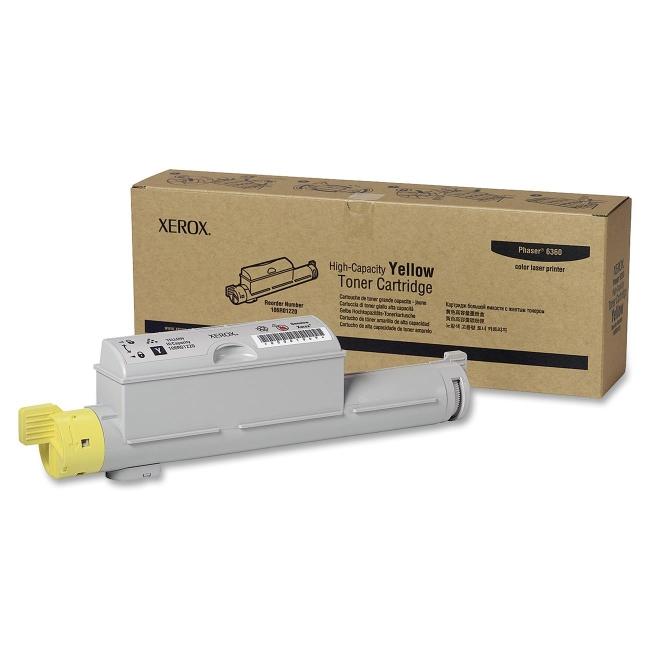 Xerox High Capacity Yellow Toner Cartridge 106R01220
