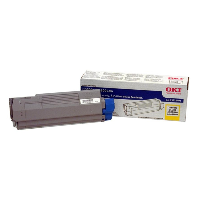 Oki Yellow Toner Cartridge 43324401