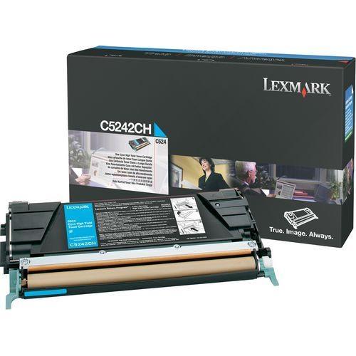 Lexmark Cyan High Yield Toner Cartridge C5242CH