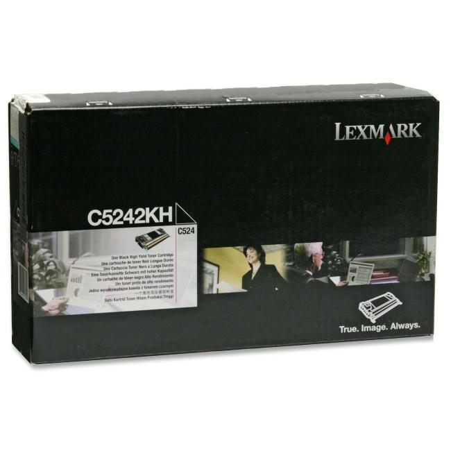 Lexmark Black High Yield Toner Cartridge C5242KH