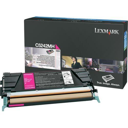 Lexmark Magenta High Yield Toner Cartridge C5242MH