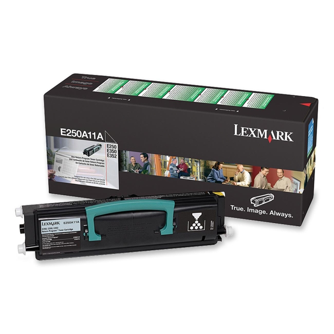 Lexmark Black Toner Cartridge E250A11A