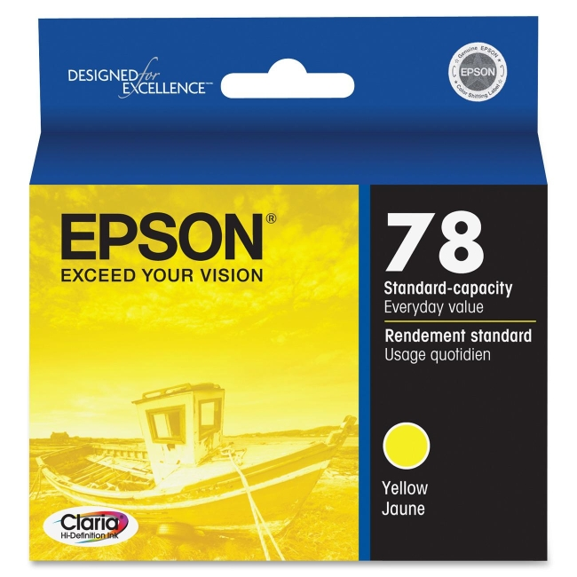 Epson Yellow Ink Cartridge T078420
