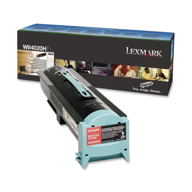 Lexmark Black Toner Cartridge W84020H