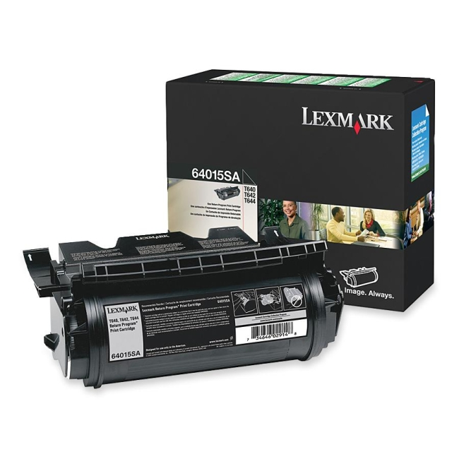 Lexmark Return Program Print Cartridge 64015SA