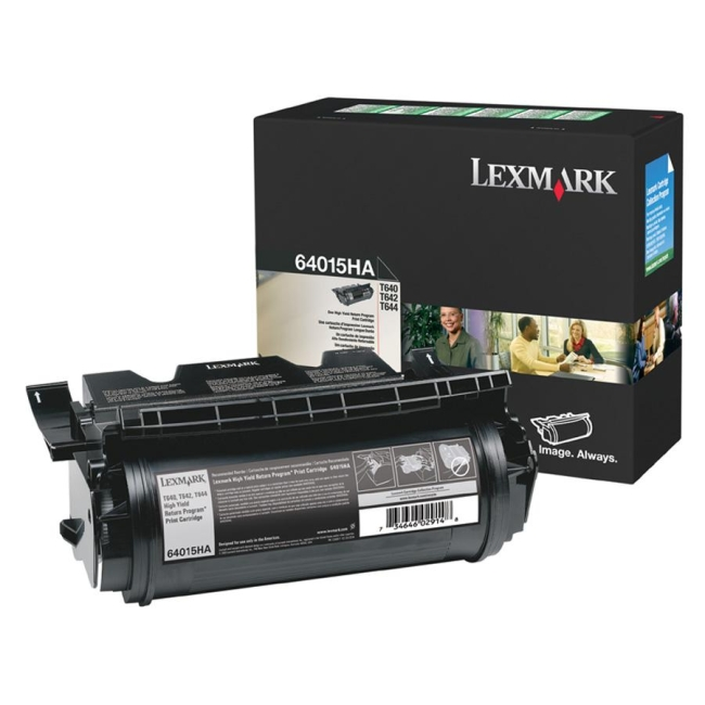 Lexmark High Yield Return Program Print Cartridge 64015HA