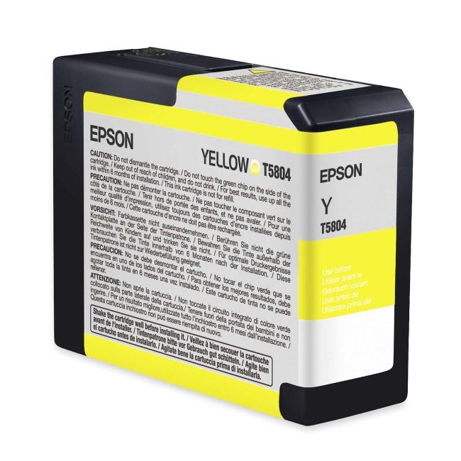 Epson UltraChrome K3 Yellow Ink Cartridge T580400