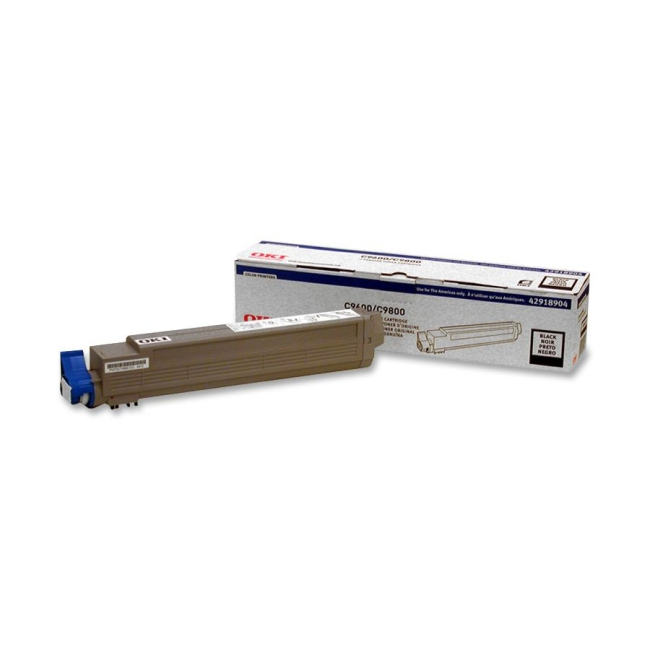Oki Black Toner Cartridge 42918904 Type C7