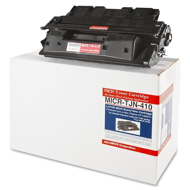 Micromicr Black Toner Cartridge MICRTJN410