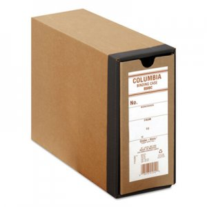 "Globe-Weis COLUMBIA Recycled Binding Cases, 2 Rings, 2.5"" Capacity, 11 x 8.5, Kraft GLWB50BC B50BC"
