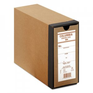 "Globe-Weis COLUMBIA Recycled Binding Cases, 2 Rings, 3.13"" Capacity, 11 x 8.5, Kraft GLWB50H B50H"