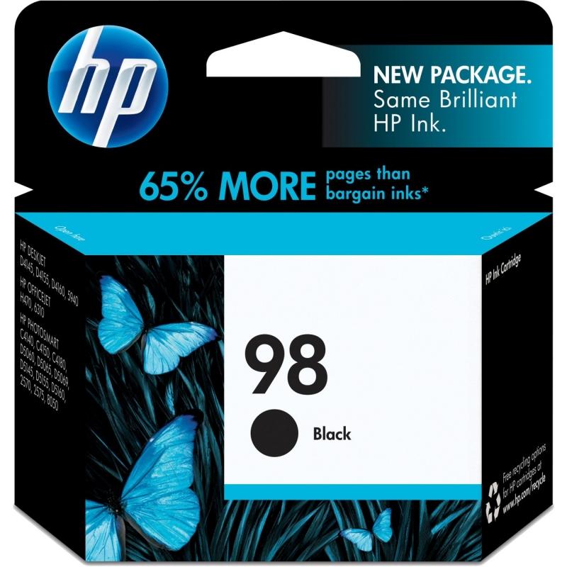HP Black Original Ink Cartridge C9364WN HEWC9364WN 98