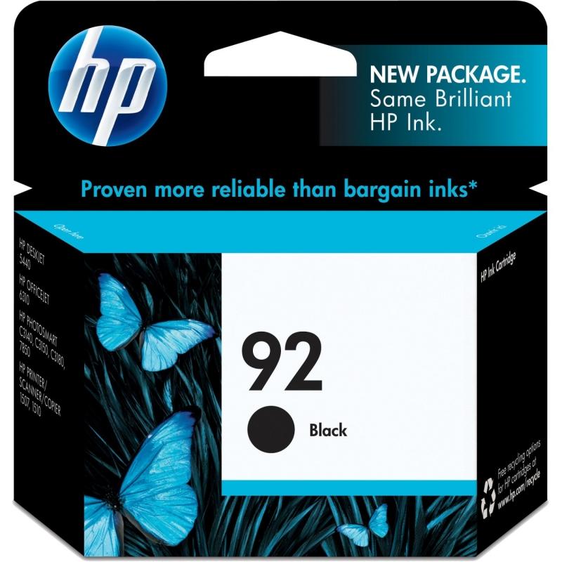 HP Black Original Ink Cartridge C9362WN HEWC9362WN 92