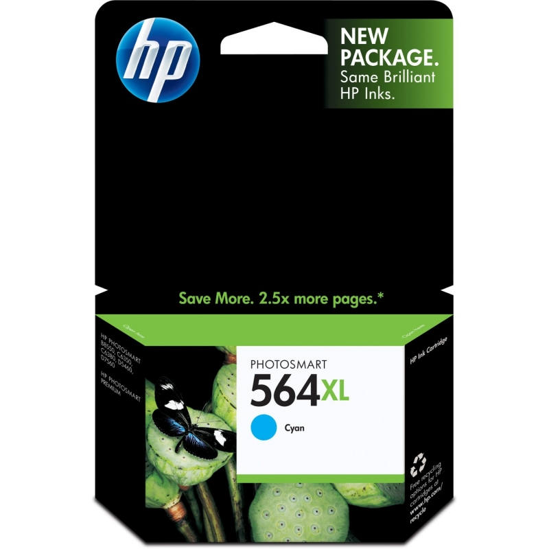 HP CB318/19/20/23/24/25WN Ink Cartridges CB323WN HEWCB323WN 564XL