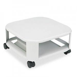 Master Mobile Printer Stand, Two-Shelf, 17-4/5w x 17-4/5d x 8-1/2h, Platinum MAT24050 24050