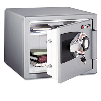 Sentry Tubular Key/Combination Fire Safe, .8 ft3,16-11/16w x 19-5/16d x 13-23/32h, Gray