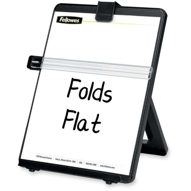 Fellowes Non-Magnetic Copyholder - Letter, Black 21106