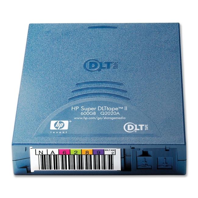 HP Super DLTtape II Tape Cartridge Q2020A HP Q2020A