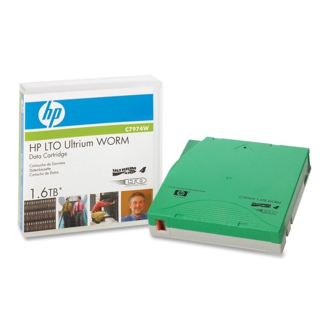 HP LTO Ultrium 4 WORM Tape Cartridge C7974W