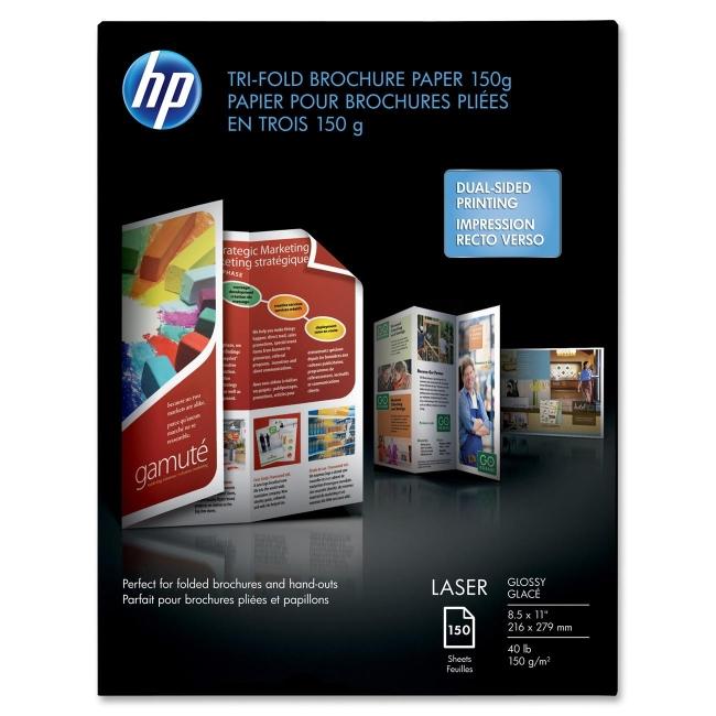 HP Tri-fold Brochure Paper Q6612A