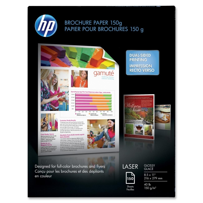 HP Color Laser Brochure Paper Q6611A