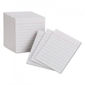 Oxford Ruled Mini Index Cards, 3 x 2 1/2, White, 200/Pack PFX10009 10009EE