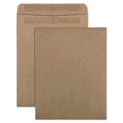 Quality Park 100% Recycled Brown Kraft Redi Seal Envelope, 10 x 13, Brown Kraft, 100/Box QUA43711
