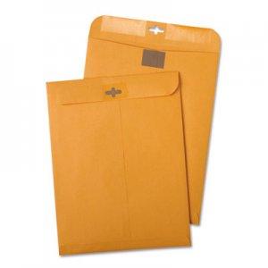 Quality Park Postage Saving ClearClasp Kraft Envelopes, #55, 6 x 9, Brown Kraft, 100/Box QUA43468
