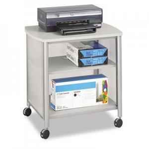 Safco Impromptu Machine Stand, One-Shelf, 26-1/4w x 21d x 26-1/2h, Gray SAF1857GR 1857GR