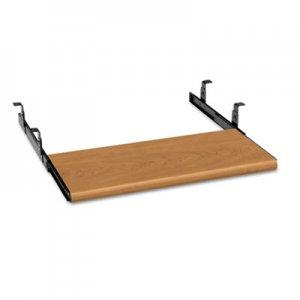 HON Slide-Away Keyboard Platform, Laminate, 21-1/2w x 10d, Harvest HON4022C H4022.C