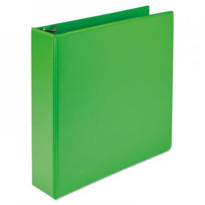 "Samsill Fashion View Binder, Round Ring, 11 x 8-1/2, 2"" Capacity, Lime, 2/Pack SAMU86678 U86678"