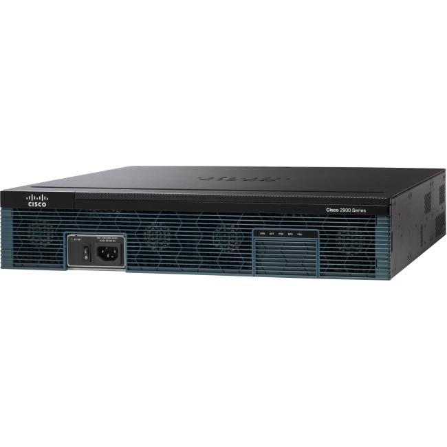Cisco w/3 GE,4 EHWIC,1 SM,256MB CF,1GB DRAM,IPB,SEC, AX C2921-AX/K9 2921
