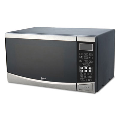 Avanti 0.9 Cubic Foot Capacity Stainless Steel Microwave Oven, 900 Watts AVAMT09V3S MT09V3S