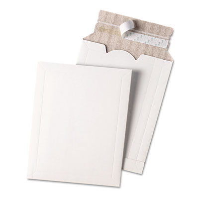Quality Park Expand on Demand Foam Lined Mailer, 10 x 13, White QUA65002
