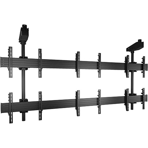 Chief FUSION Micro-Adjustable Large Ceiling Mounted 3 x 2 Video Wall Solutions LCM3X2U