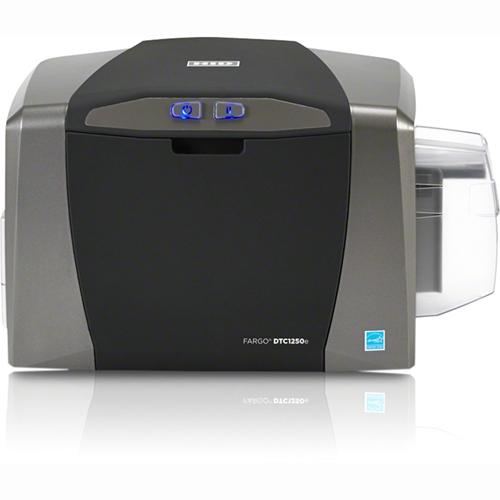 Fargo ID Card Printer / Encoder Dual Sided 050116 DTC1250e
