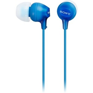 Sony In-Ear Headphones (Blue) MDREX15LP/L