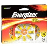Energizer Hearing Aid Battery AZ10DP-24