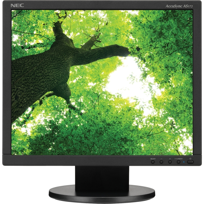 "NEC Display 17"" Value Desktop Monitor with LED Backlighting AS172-BK"