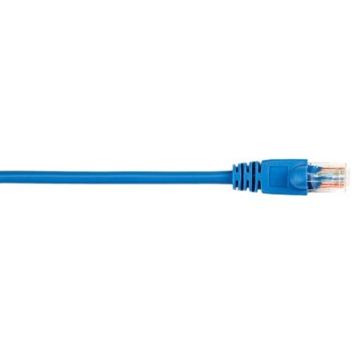 Black Box CAT5e Value Line Patch Cable, Stranded, Blue, 6-ft. (1.8-m) CAT5EPC-006-BL