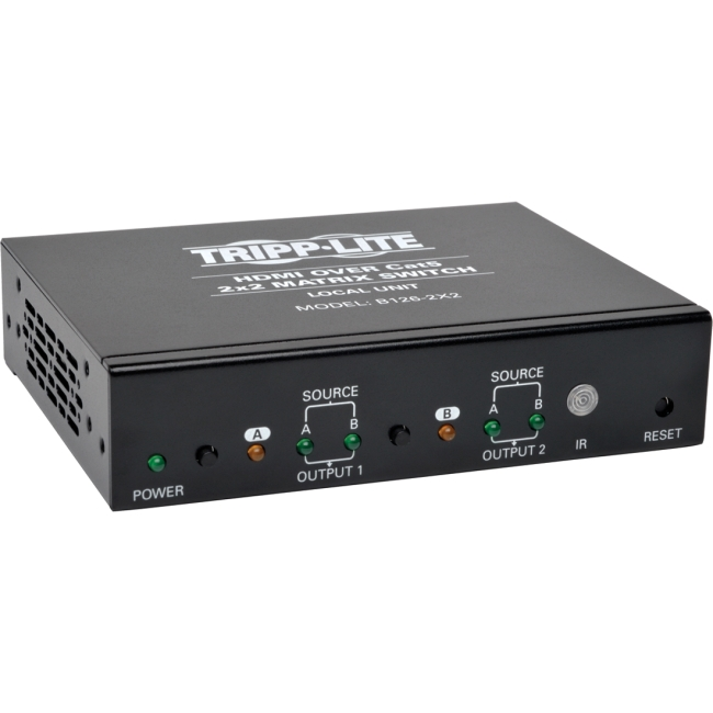 Tripp Lite HDMI over Cat5 / Cat6 2X2 Matrix Switch B126-2X2